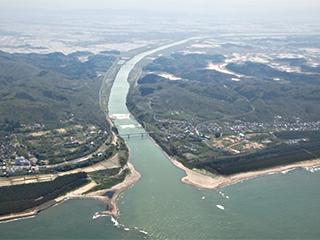 大河津分水路改修事業の起工式を迎えて